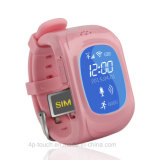 Sos 단추 (H3)를 가진 GPS 추적자 시계가 다중 Luanguage에 의하여 농담을 한다