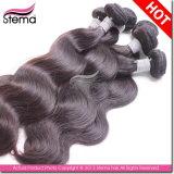 Выдвижения волос девственницы человеческие волосы 100% бразильского Unprocessed