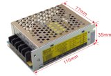fuente de alimentación de interior del CV IP20 LED de 60W 12V con Ce