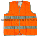 Одеяние высокой безопасности видимости отражательное (ELTHVJ-183)