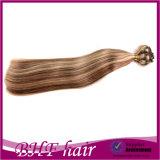 호화스러운 Full Head Set 140-200g Quad Weft Clip Hair Extension