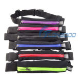 Sports extérieur Waterproof Elastic Waist Bag Travel Running Fanny Pack pour Smartphone