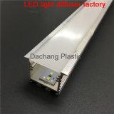 Difusor del policarbonato para el perfil de aluminio ahuecado del LED