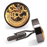 Zoll-sehr Nizza Mann-Uhr-Bewegungs-Manschettenknöpfe Cw-3001