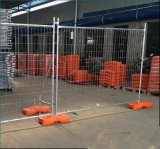 Cerco provisório australiano do canteiro de obras com cinta/cerca provisória