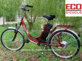 Bateria de lítio econômica e bicicleta elétrica do baixo preço para a fêmea