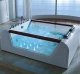 De draagbare Vierkante Witte Acryl Sanitaire Badkuip van de Massage (SR5B008)