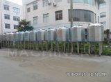 1000L de sanitaire Stoom die van het Roestvrij staal Mengt Tank (ace-jbg-T3) verwarmen