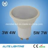 3W 4W 5W 7W Venta caliente MR16 LED Spotlight