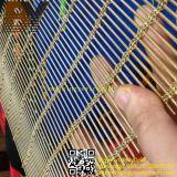 Acoplamiento de alambre decorativo del acero inoxidable/acoplamiento de alambre arquitectónico