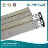 Ый углем цедильный мешок ткани фильтра газового фильтра боилера промышленный