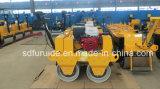FURD de doble tambor de funcionamiento manual rodillo vibratorio (FYL-S600)