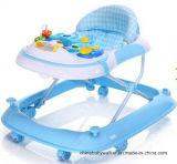 Fabrik-Verkäufe sicherer Softextile neues Modell-Baby-Wanderer mit entfernbarem musikalischem Kasten