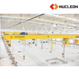 Alta calidad que alza la grúa de puente de la viga del doble de la serie de Nlh de la maquinaria
