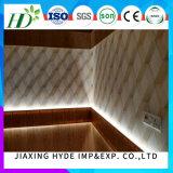 le plafond de PVC de largeur de 20/25cm pour la décoration lambrisse le matériau imperméable à l'eau de construction (impression/estampage chaud/laminage, le GV)