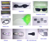 전문가 YAG Laser 귀영나팔 머리 제거 기계 IPL 피부 회춘 RF 마스크 들기