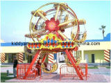 O carro o mais novo do turista do passeio do Kiddie do parque de diversões da roda de Ferris do projeto