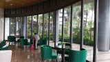 Parede de vidro móvel/parede de vidro curvada/parede divisória de vidro do arco