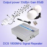 ракета -носитель сигнала мобильного телефона телекоммуникаций 1800MHz GSM напольного репитера 2watt 33dBm промышленная