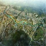 Luftaufnahme-Stadt-Planung