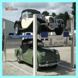 Mutrade avanzato che parcheggia due pallet 4 elevatore di parcheggio dell'automobile del pavimento di parcheggio dei quattro paletti