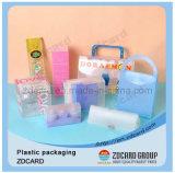 PVC 상자를 인쇄하는 명확한 색깔을 포장하는 힘 은행 선물 세트