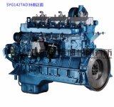 Motor diesel de 6 cilindros. Shangai Dongfeng Diesel Engine para Generator Set. Motor de Sdec. 154kw
