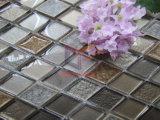 Mosaico de vidro com o misturado cerâmico para a cozinha (CST211)