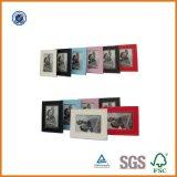 Frame de couro de venda quente da foto do plutônio da família Handmade decorativa engraçada do amor do casamento