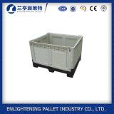 клеть коробки паллета пластичного контейнера для навалочных грузов 1200X1000X810mm пластичная