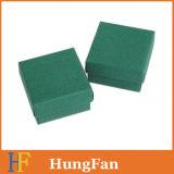 Boucles d'oreilles en couleur Kraft de petite taille Boîte en papier d'emballage / Boîte d'emballage cadeau
