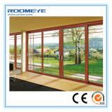 Roomeye 2.0mm ambientali/portelli di alluminio insonorizzati/a prova di fuoco che fanno scorrere stile aperto