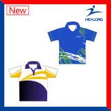Healong bajo precio de sublimación de la camiseta del polo-Wear totalmente
