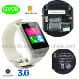 Modernes Bluetooth intelligentes Uhr-Telefon mit Kamera (GV08)
