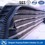 Riem Covneyor van Cleated van de Zijwand van de Industrie van de metallurgie de Rubber