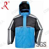Chaqueta impermeable y respirable del nuevo diseño de esquí para el invierno (QF-605)