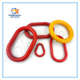 Hebilla/anillo que azotan unidireccionales galvanizados forjados del acero de carbón