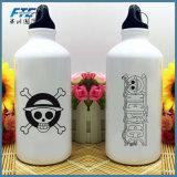 Botella de agua de aluminio de consumición de una pieza