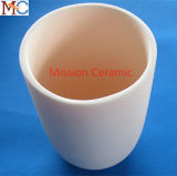 99.7% Crisoles del cilindro del alúmina
