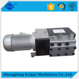 Vide Rotary fonctionnement à sec et pompe à pression à la machine à papier pliant
