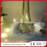 Frascos Shaped do suco do frasco de vidro de vinho da torre Eiffel com cortiça