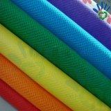 Pano não tecido de polipropileno em toda a cor em embalagem de rolos