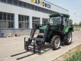 70HP 4WD EPA 엔진 유압 새로운 농장 트랙터 농기구 정가표