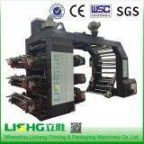 Maquinaria de impressão helicoidal de Flexo da cor da engrenagem dois (séries de YT)