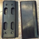 Bolt on / Chain on / Clip on Excavator Rubber Pad para Caterpillar / Komatsu
