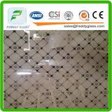 Vidrio de mariposa / vidrio decorativo bien / vidrio del arte / vidrio de edificio