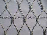 Hand-Wovenステンレス鋼ケーブルの網