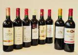 Система ориентации красного вина обозначая