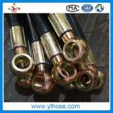 En856 4sh 4sp flexibler hydraulischer Gummiöl-Hochdruckschlauch