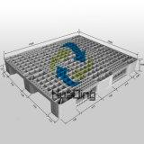 L1200*W1000*H160mm, Hochleistungs3 Seitentriebs-geöffnete Plattform-Plastikladeplatte